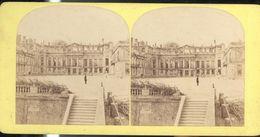 Photo Stéréoscopique Opaque 17,5 X 9 Cm - Ruines Du Chateau De St Cloud - Fotos Estereoscópicas