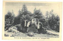Germania  Gruß Von Der Hanskühnenburg I. Harz Schlageter-Stein Non Viaggiata - Germania