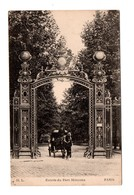 75 - PARIS . Entrée De Parc Monceau - Réf. N°7908 - - Parken, Tuinen