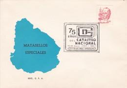 75 AÑOS DEL CATASTRO NACIONAL.-URUGUAY-TBE-BLEUP - Uruguay