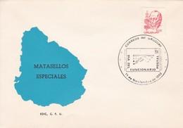 DIA DEL FUNCIONARIO POSTAL.-URUGUAY-TBE-BLEUP - Uruguay