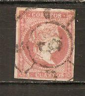 España/Spain-(usado) - Edifil  48-RC-6 (Málaga) - Yvert  43 (o) - Used Stamps