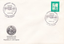 URUGUAY-SUIZA, CLAUSURA, EXPO FILATELICA TEMATICA INTERNACIONAL-TBE-BLEUP - Uruguay