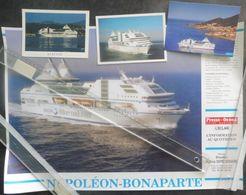 Ek9.r Paquebot Ferry NAPOLEON BONAPARTE Chantiers De L'Atlantique St Nazaire SNCM - Technics & Instruments