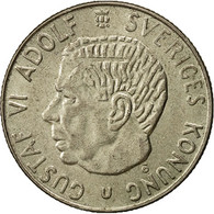 Suède, Gustaf VI, Krona, 1965, SUP, Argent, KM:826 - Suède