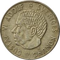Suède, Gustaf VI, Krona, 1963, TTB+, Argent, KM:826 - Suède