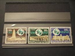 NIGER - P.A. 1961 UPU 3 VALORI - NUOVI(++) - Niger (1960-...)