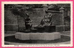 Tournai - Monument à Roger De La Pasture Dit Van Der Weyden 1399-1464 - Edit. De La Maison V. MOERS - Tournai