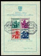 Jugoslawien Yugoslavia 1937 - Trachten - Philatelistische Landesausstellung, Belgrad - Kostüme