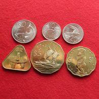 Cook Islands Set 10  20  50  Cents  1  2  5 $  2015 UNC - Cook