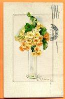 HB484, Illustrateur, Primevère, Fleur, Flower, 1446, Circulée 1915 - Klein, Catharina