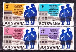 Botswana 1967-Università -Serie Completa Nuova MLLH - Botswana (1966-...)