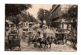 75 - PARIS .  LE BOULEVARD MONTMARTRE . CARREFOUR DROUOT - Réf. N°7930 - - Francia