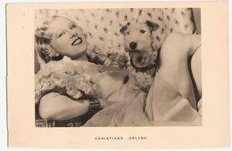 Carte Postale D'artiste / Movie Star Postcard - Christiane Delyne (#4593) - Actores