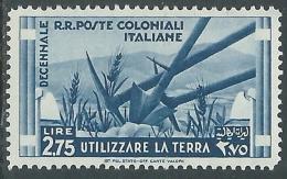 1933 EMISSIONI GENERALI DECENNALE 2,75 LIRE MH * - I41-5 - General Issues
