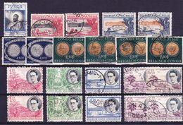 Belgisch Congo Kleine Verzameling Nr 324/36, Gestempeld, Zeer Mooi Lot K754,   KOOPJE, Bieden Vanaf 1.00 € - Timbres