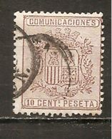 España/Spain-(usado) - Edifil  153 - Yvert  151 (o) - 1873 1. Republik