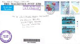 ILE MAURICE (MAURITIUS) Enveloppe En Provenance THE MAURITIUS POST LTD - PHILATELIC BUREAU Du 07.02.2018 - RARE - Mauritius (1968-...)