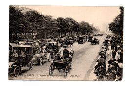 75 - PARIS . L'AVENUE DU BOIS DE BOULOGNE - Réf. N°7938 - - France