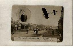 61 - SAINT EVROULT- TOUQUETTES - T.Belle Et Rare Carte Photo De L'Aviateur Khuling - France