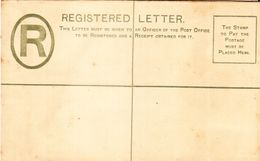 ILE MAURICE (MAURITIUS) Enveloppe REGISTERED LETTER (non Affranchie) - RARE (scan Recto:verso) - Mauritius (1968-...)
