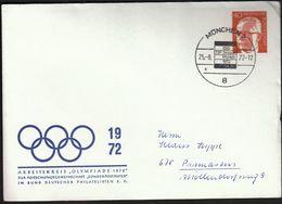 """Germany Munich 1972 / Olympic Games Munich / Arbeitskreis """"Olympiade 1972"""" / CIO, IOC 73rd Session - Verano 1972: Munich"""