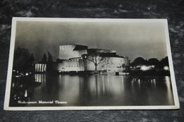 1490  Shakespeare Memorial Theatre - Stratford On Avon - Stratford Upon Avon