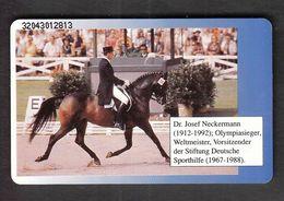 Germany 1992 / Olympic Games Tokio 1964 / Josef Neckermann,Gold Medal / Equestrian Dressage / Phonecard - Juegos Olímpicos