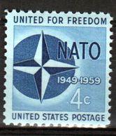 США   1959  MICHEL #750  ЛЮКС** - United States
