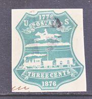 U.S. U  219    (o)   1876  Issue - Postal Stationery