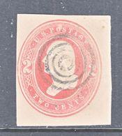 U.S. U  234   FAWN    (o)   1883  Issue - Postal Stationery