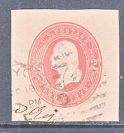 U.S. U  246   FAWN    (o)   1884  Issue - Postal Stationery