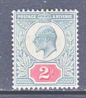 GREAT  BRITIAN  130  PERF 14    *  1902-11  Issue - 1902-1951 (Kings)