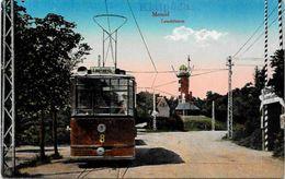 CPA Lituanie Lituania Non Circulé Memel Tramway - Lithuania