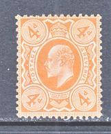 GREAT  BRITIAN  144  PERF 14     *  1909-10  Issue - 1902-1951 (Kings)