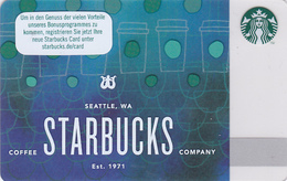 Starbucks Card - - - Germany - - - 6148 Seattle - - - Cups - Gift Cards