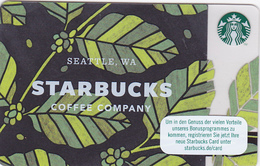 Starbucks Card - - - Germany - - - 6148 Seattle - - - Leaves - Gift Cards