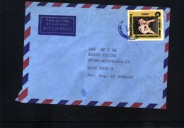 El Salvador  Interesting Letter - Guatemala