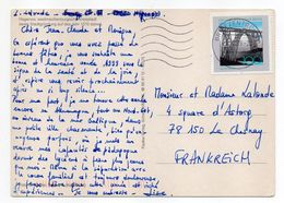 Allemagne-1999--tp Pont ( Viaduc )  Seul Sur Document---sur Carte Postale HAGENOW  MECKLENBURG - BRD