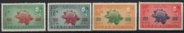 Etiopia 1949 Y.T. A31/34 **/MNH VF - Ethiopia