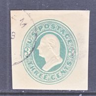 U.S. U  165  CREAM    (o)   1874-86  Issue - Postal Stationery