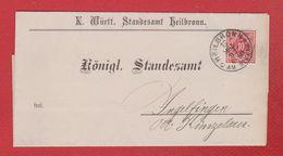 Plis De Heilbronn Am Neckar --  Pour Angelfinden - Briefe U. Dokumente
