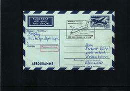 Austria / Oesterreich 1970 Aerogramme First Flight Salzburg-Kopenhagen - Premiers Vols AUA