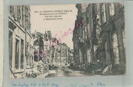 CPA 55  VERDUN  LA GRANDE GUERRE 1914-18  Bombardement De Verdun  Une Rue Détruite    M 2018 369 - Guerra 1914-18