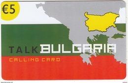 GREECE - Talk Bulgaria, Altec Prepaid Card 5 Euro, Tirage 10000, Exp.date 31/12/05, Sample - Greece
