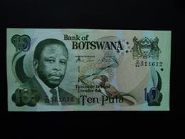 BOTSWANA : 10 PULA  2002  P 24a   Presque NEUF - Botswana