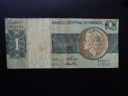 BRÉSIL : 1 CRUZEIRO  ND 1970   P 191a    TTB - Brésil