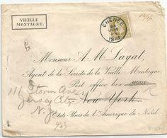 6Rm-417 :  N° 32: E9: CHENEE  > New - York & Doorgestuurd : Paid ALL.... - 1884-1891 Léopold II