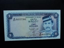 BRUNEI : 1 RINGGIT  1988  P 6d    SPL+ / A.U. - Brunei