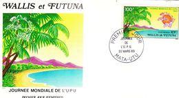 WALLIS ET FUTUNA - FDC De 1983 N° PA 123 - FDC